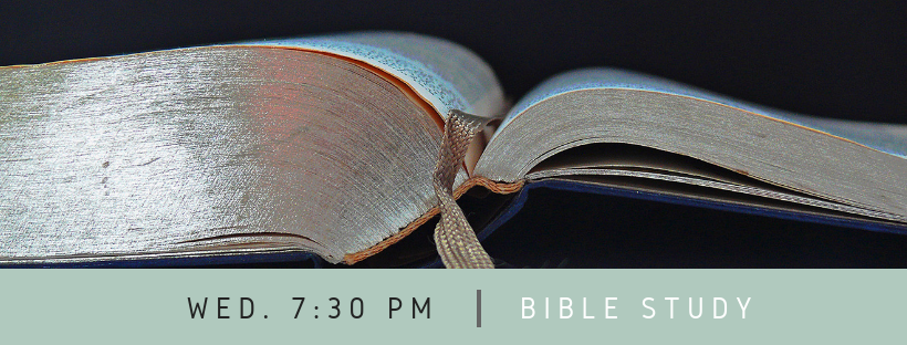 Wednesday Adult Bible Class